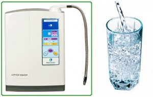 Microlite Ionizer makes the finest Ionized water