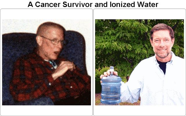 Ionized Water Effects by a Cancer Survivor