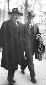einstein and bohr