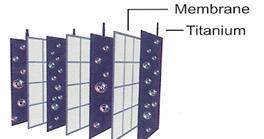JP107 Titanium-Platinum Ionization Plates