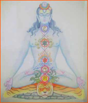 Yogi in Meditation: The Path of Self Realization